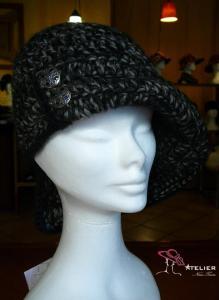 Cappello Liberty grigio melange