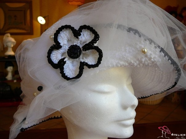 "Cappello sposa ""Liberty"""