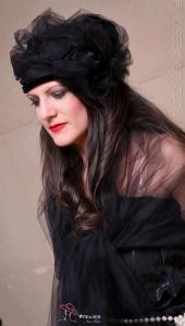 Cappello da  cerimonia nero