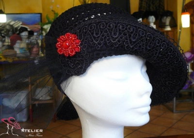 "Cappello ""Liberty"" nero"