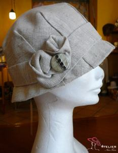 Cloche in lino