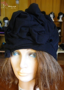 Turbante nero