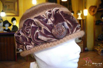 Cloche in lana-cotta