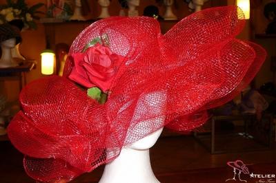 Cappello rete rosso
